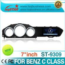 Für 2010-2013 mercedes-benz C-klasse C200/C300/C260/180 Karat Auto DVD mit GPS, Radio, bt, ipod, canbus lenkung, usb sd ..