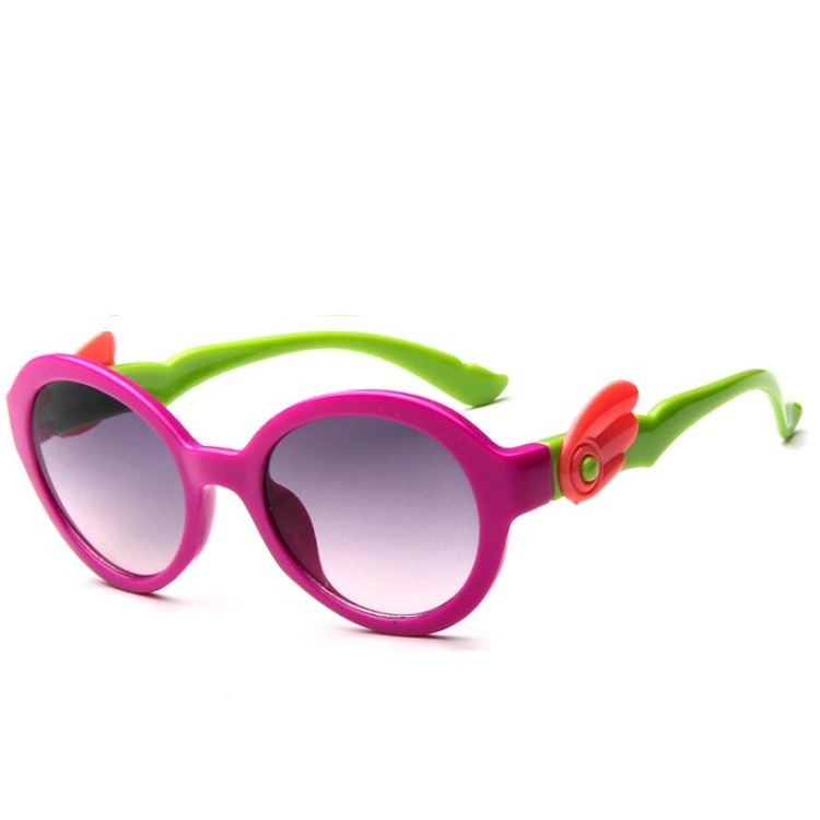 Fashion Kids Sunglasses Children Princess Cute Baby Glasses High Quality Boys Gilrs Wing ...