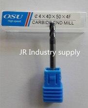1PCS OSU 4*4D*50*4F HRC 45 carbide end mills