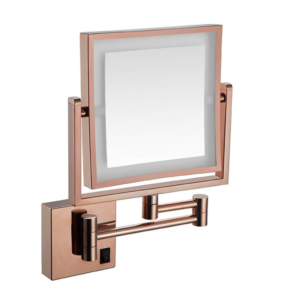 8 Inch Extendable Lighted Makeup Mirror