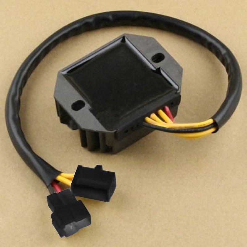 Voltage Regulator Rectifier For Suzuki GS500 2004-2011 GS500K 2001-2009 Black