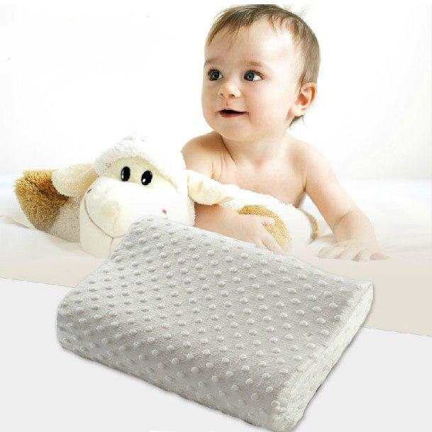 UIHOME Chaude haute qualité Espace oreiller 25x40 Lent mousse à mémoire de rebond coussins cou oreillers de santé cervicale pour enfants