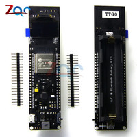 TTGO ESP32 0 96 0 96 Inch OLED Display WiFi Bluetooth 18650 Lithium Battery Shield Development