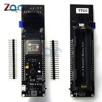 TTGO ESP32 0 96 0 96 Inch OLED Display WiFi Bluetooth 18650 Lithium Battery Shield Development