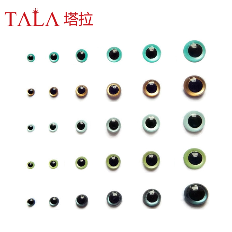 Toy Eyes Brown Doll Accessories Teddy Bear Eyes 50Pairs 15mm Free - Dolls and Stuffed Toys