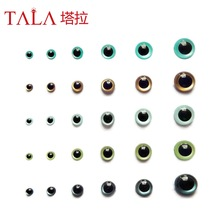Toy Eyes Brown Doll Tilbehør Teddy Bear Eyes 50Pairs 15mm Gratis frakt