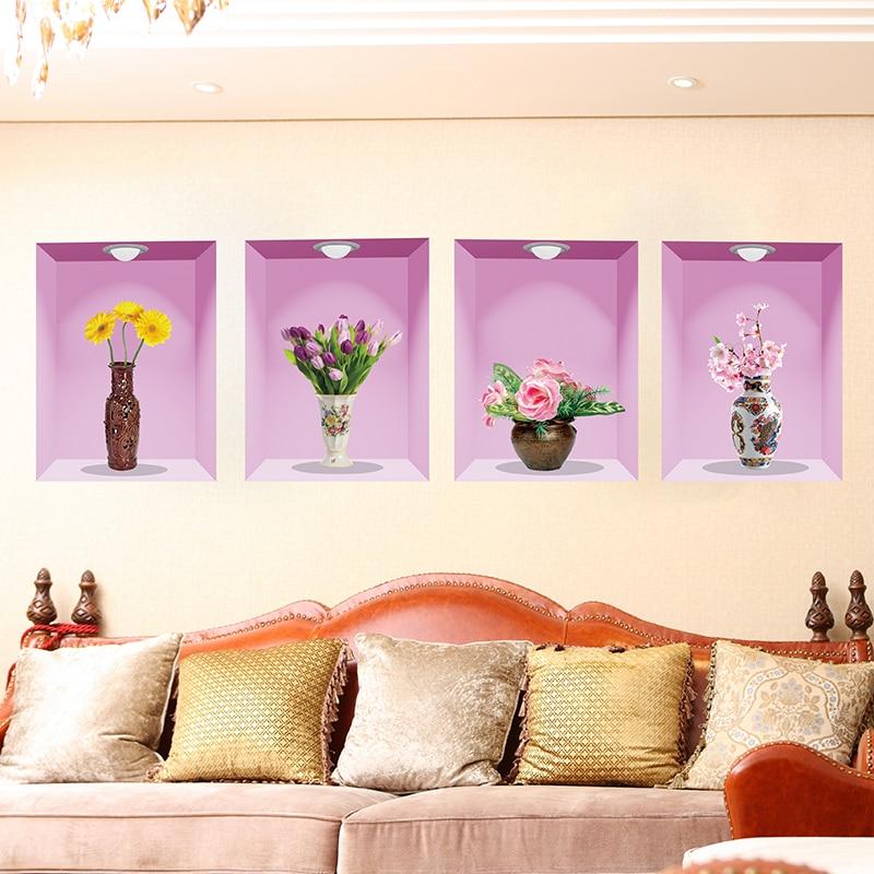 Online Get Cheap Wall Flower Vase Aliexpress Com Alibaba Group