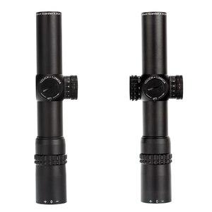 Image 4 - Ohhunt الجارديان 4.5x24 الصيد بندقية نطاق 30 مللي متر أنبوب التكتيكية البصريات البصر 1/2 نصف ميل نقطة شبكاني الأبراج إعادة Riflescope