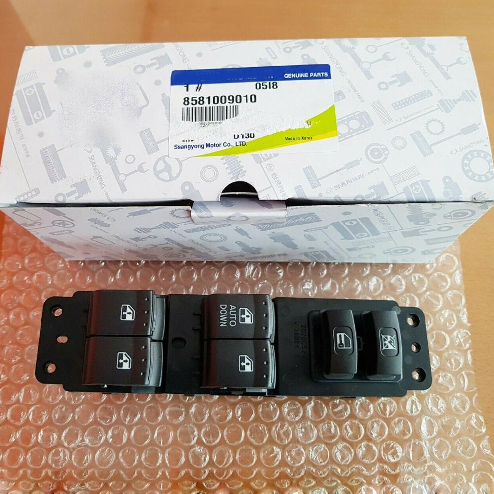 OEM 8581009010 Power Window Main Switch For Ssangyong Actyon Kyron Sports 07-09 #8581009010