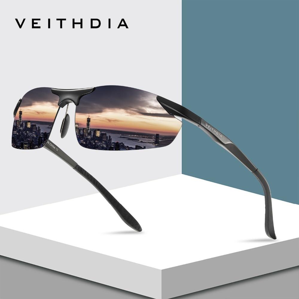 VEITHDIA Značka Hliníkové polarizované sluneční brýle Muži - Příslušenství pro oděvy