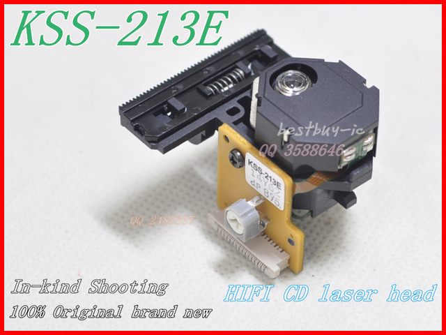 100% New Original KSS-213E/KSS213E CD Optical Pickup Can replace KSS-213CL CD/VCD player laser head KSS 213E