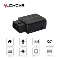 VJOYCAR Real 4G 3G OBD GPS Tracker Car Locator OBDii Diagnostic Tool Canbus Voice Monitor Vibration