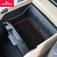 smabee Gate slot pad mats Interior Door Pad/Cup For Kia Grand Carnival 2015 2017 red/blue/white 24pcs