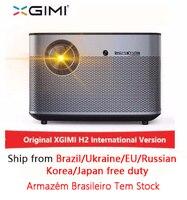 XGIMI H2 1920*1080 dlp проектор Full HD 1350 ANSI люмен 3D проектор Поддержка 4 K Android WIFI Bluetooth проектор