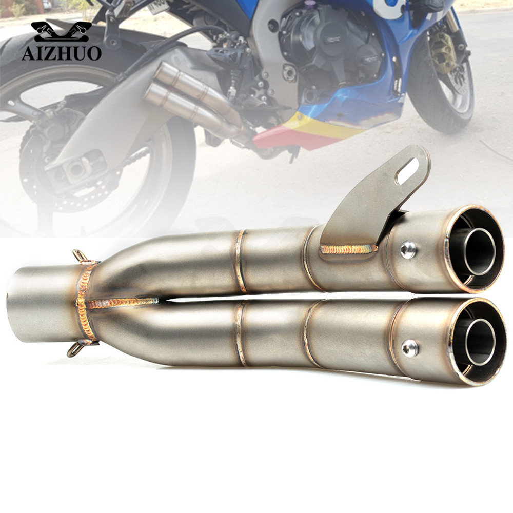 36-51mm Motorcycle Exhaust Pipe For YAMAHA YZF R1 2004 2005 2006 2007 2008 2009 2010 2011 2012 2013 2014 2015 2016 2017 2018 цена