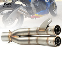 36 51mm Motorcycle Exhaust Pipe For YAMAHA YZF R1 2004 2005 2006 2007 2008 2009 2010 2011 2012 2013 2014 2015 2016 2017 2018