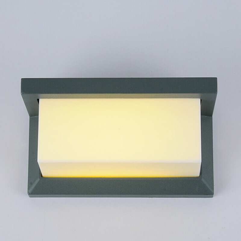 IP65 لامپ ضد آب LED سطح ضد آب نصب شده در - روشنایی بیرون ساختمان