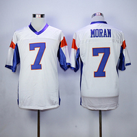 7 Alex Moran Blue Mountain State Football Jersey 54 Thad Castle Stitched Movie TV Show Throwback