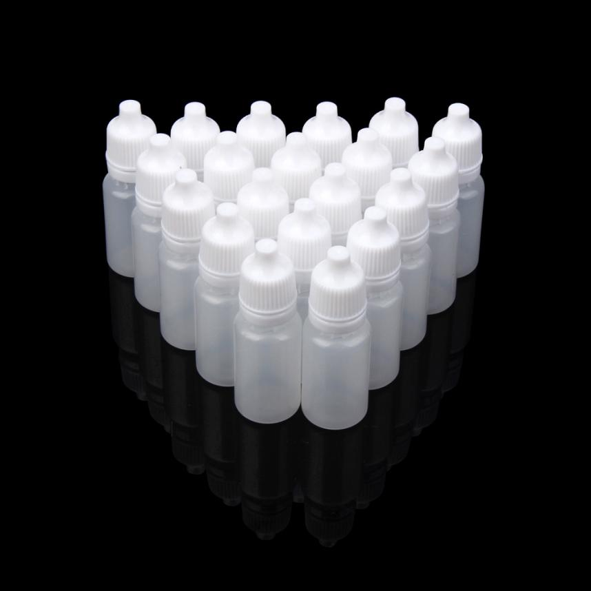 25/50/100PCS 10ml Empty Plastic Squeezable Dropper Bottles Eye Liquid Dropper Oct 21 50pcs plastic ldpe squeezable dropper bottles eye liquid empty new 88 hjl2017