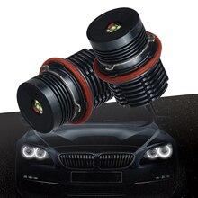 цена на 2×40W LED Angel Eyes Car LED Halo Ring Marker Bulbs Light  6500K-7500K White Error Free Fit for BMW E39 E60