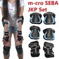 [Skating Protection] Original M-cro SEBA JKP Knee Wrist Elbow Protective Suit Pad, For Inline Roller Skates Trainning