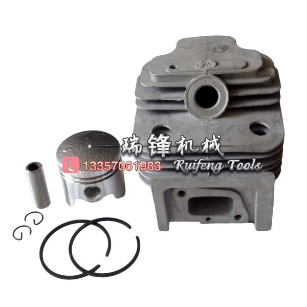 CG520  52CC  brush cutter cylinder piston  KITS 44MM blanc nature майка