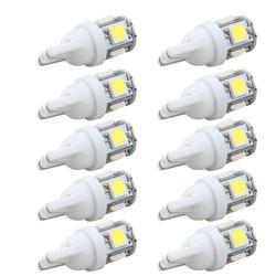 10 шт водить автомобиль DC 12 v лампада свет T10 5050 Super White 194 168 w5w T10 Led Парковка Авто лампы тормоз с клиновым разжимом лампа