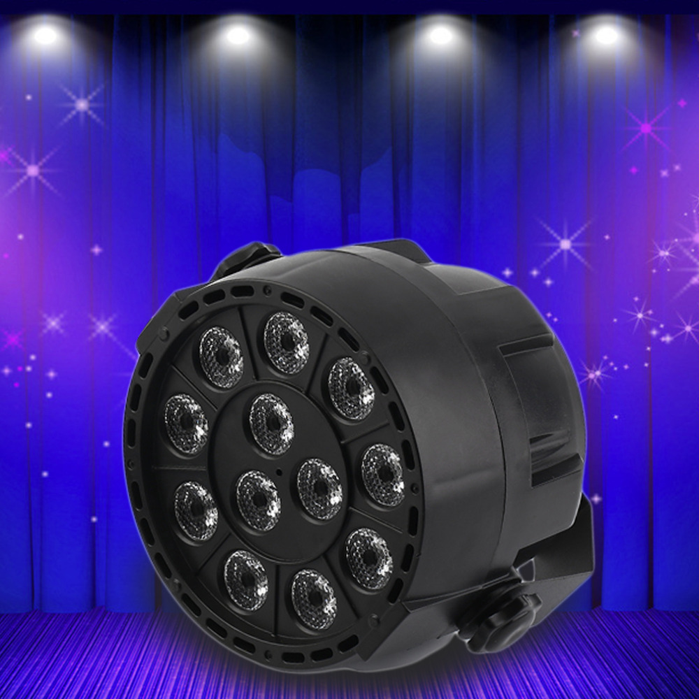 15W RGBW 12-LED Stage Light Lighting Strobe Party Club DJ Disco Show Lamp