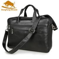 Натуральная кожа Сумка повседневная мужская сумка из воловьей кожи мужская сумка через плечо мужская дорожная сумка для ноутбука Портфель
