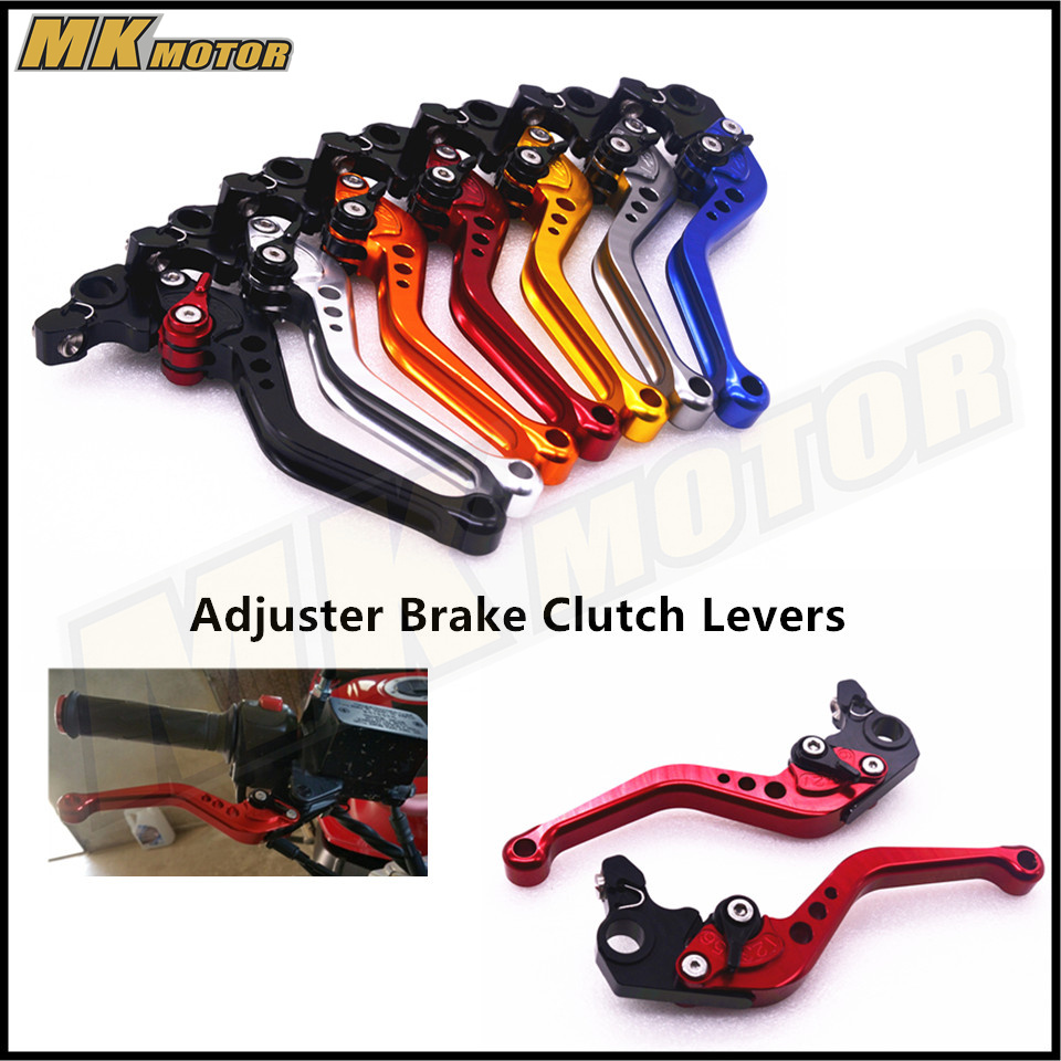 BYSPRINT CNC Motorcycle Accessories Short Brake Clutch Levers For Yamaha YZF R1 R6 FZ1 FAZER R6S USA VERSION/CANADA VERSION 6 colors cnc adjustable motorcycle brake clutch levers for yamaha yzf r6 yzfr6 1999 2004 2005 2016 2017 logo yzf r6 lever