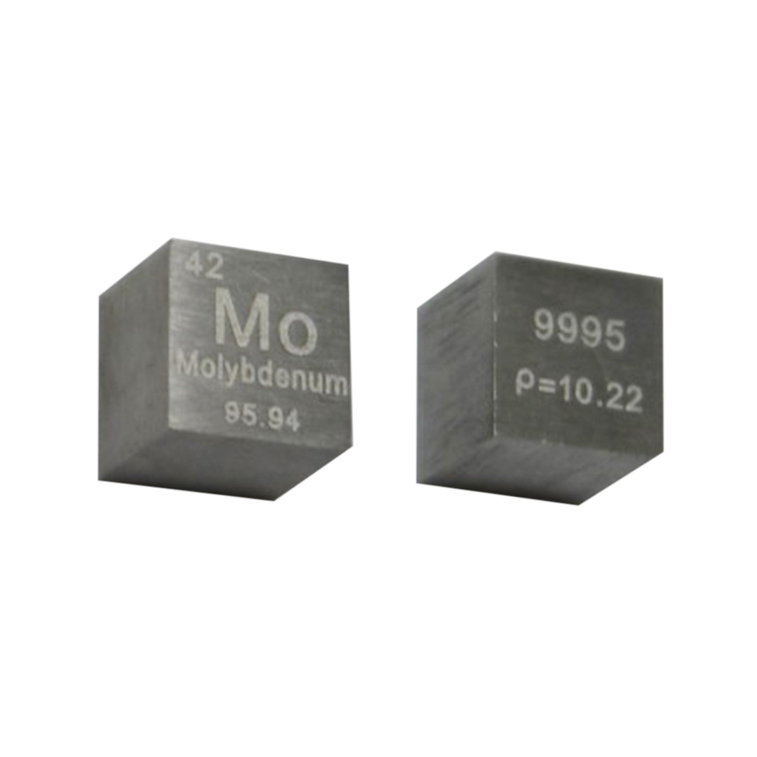 High Pure 10 X 10 X 10mm Wiredrawing Metal Molybdenum Cube Periodic Table Of Elements Cube For Study Lab Collection(Mo≥99.95%)