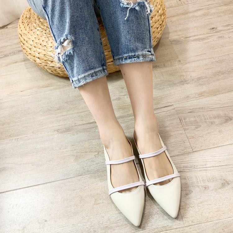 Pics Mujer Cuero De Bling as Hebilla As Zapatillas Diapositivas Dos Zapatos Pics Mocasines Mujeres Mulas Estrecha En Lentejuelas Las Punta Chica Banda xSZq1w