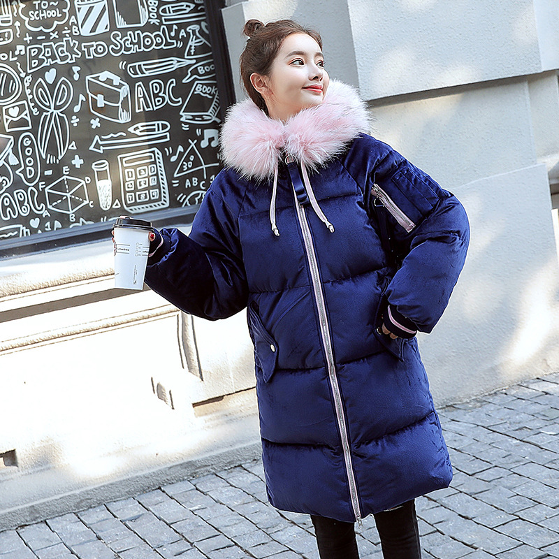 Winter Plus Size Pregnancy Jacket Fashion WarmThicken Pregnant Women Parkas Hooded Coats Maternity Down Jacket Women Outerwear plus size women cotton clothing 2017new irregular coats jacket thicker casaco feminino fashion top outerwear abrigos mujer 1044