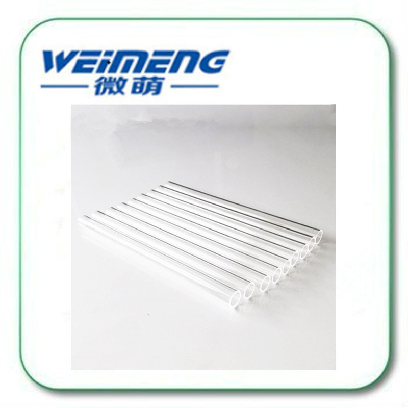 Weimeng brand high quality Quartz Diversion pipe 15*12.4*175mm transparent Filter tube & cooling tube fatory directly supply