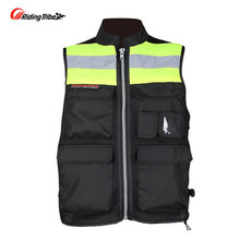 Free shipping Riding Tribe JK-34 motorcycle riding clothes reflective safety vest vest fluorescent clothing uniforms printing
