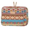Bohemian Soft Canvas Cover Case Laptop Sleeve Bag For Macbook 12inch Sleeve Case Cover For Macbook Pro 14 15.6 Retina Bag
