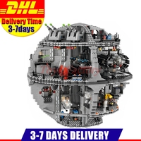 2017 DHL LEPIN 05063 4016pcs Genuine New Star War Force Waken UCS Death Star Educational Building