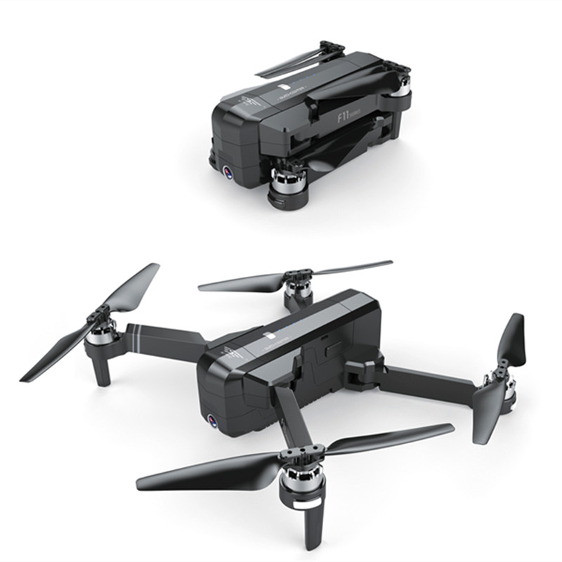 Image 5 - SJRC F11 GPS Drone With Wifi FPV 1080P Camera Brushless Quadcopter 25mins Flight Time Gesture Control Foldable Dron Vs CG033 Z5-in RC Helicopters from Toys & Hobbies