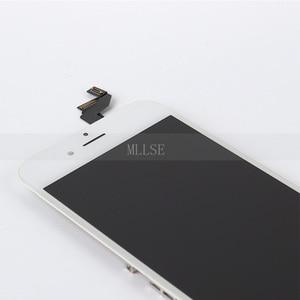 Image 4 - 10/szt. Przedni wyświetlacz dla iPhone 6 6s LCD z ekranem dotykowym z naprawa ramy wymiana zespołu Digitizer telefonu bez martwych pikseli DHL