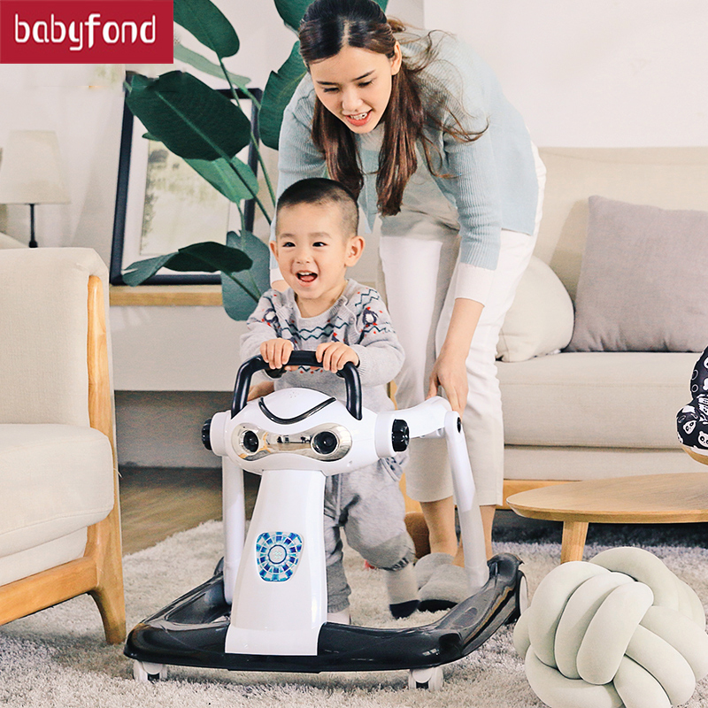 RU Free Ship! Baby Walker Multi Function Anti Rollover For 6-18 Months Baby Rollover Prevention Brand Walker Babysafe Brand