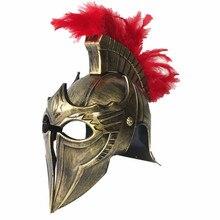 كوس تنكر خوذة المتقشف المحارب قبعة الرومانية قبعة سبارتاكوس الساموراي قبعة