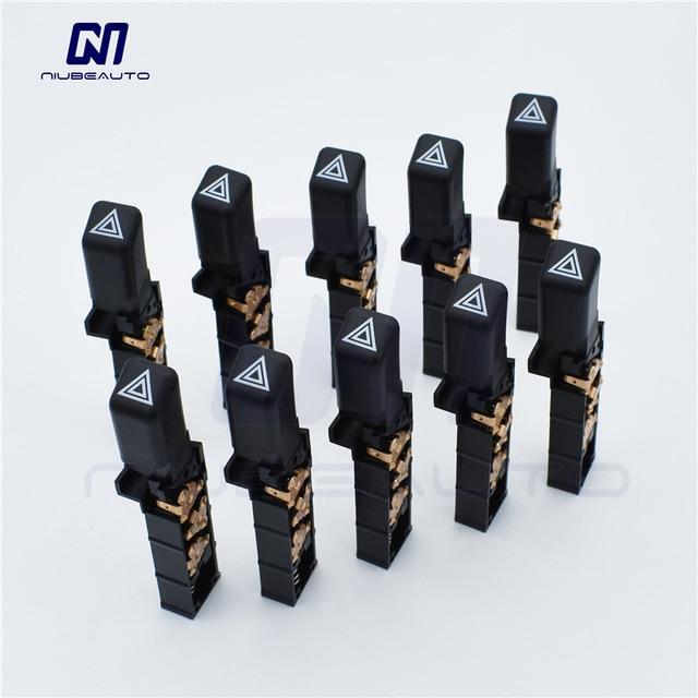 Niubeauto 10pcs Lot Oe Emergency Hazard Warning Flash Switch On 15177379 15174447 For Chevy S10 Blazer Gmc S15 Pickup Olds