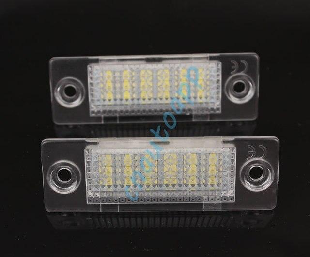 Auto Nummerplaat Lampen LED Nummerplaat Verlichting Voor VW Caddy ...