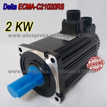 цена на Delta 2000 W Servo Motor ECMA-C21020RS Work With Servo Drive ASD-B2-2023-B  Genuine 2KW Motor Quality Better After Sales Service