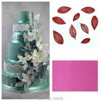 Large Size 44 30 0 3cm Wedding Fondant Silicone Lace Mold Cake Lace Mat Fantasy Flower