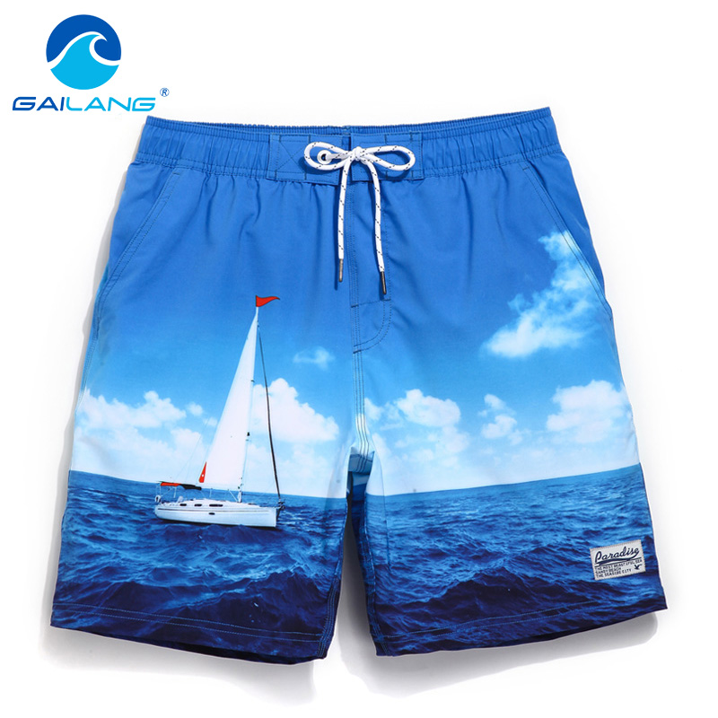 Gailang Brand Men s Beach Shorts Board Boxer Trunks Men Bermuda Swimwear Swimsuits Boxers Plus Size
