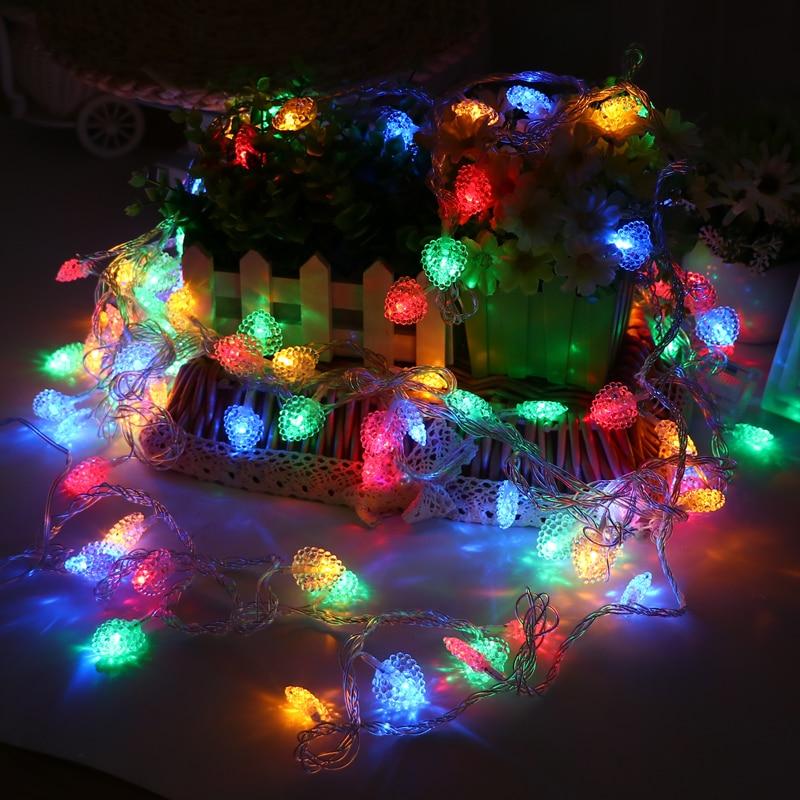 JULELYS 30M 300 bulbs Fairy Dritat Dritat e Krishtlindjeve Garland - Ndriçimi i pushimeve - Foto 3