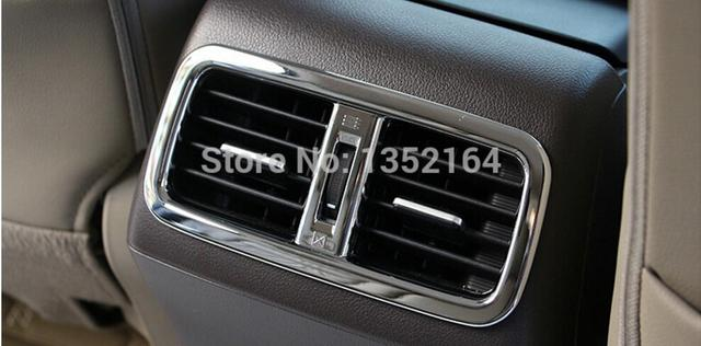 Auto inerior accessories,rear air vent intake trim sticker for Honda CR-V 2015, free shipping
