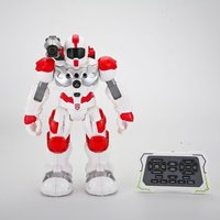 hot! RC Robot Programmable Combat Defender Intelligent Dancing Walking Light Musical Kid Toys With Remote Control Birthday Gifts