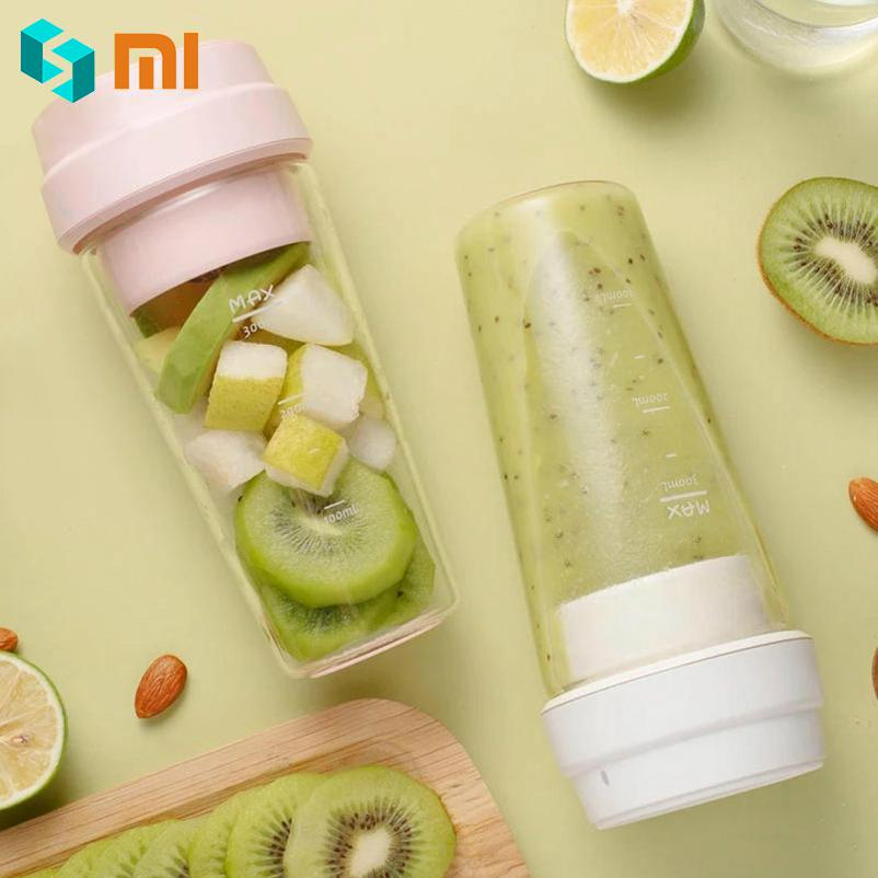 Xiaomi 17PIN 400ML Fruit Juicer Bottle Portable Blender Juicer Extractor Cup Magnetic Charging for Family Office